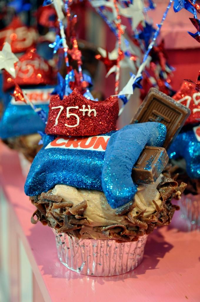 Chocolate Royalty Cupcake