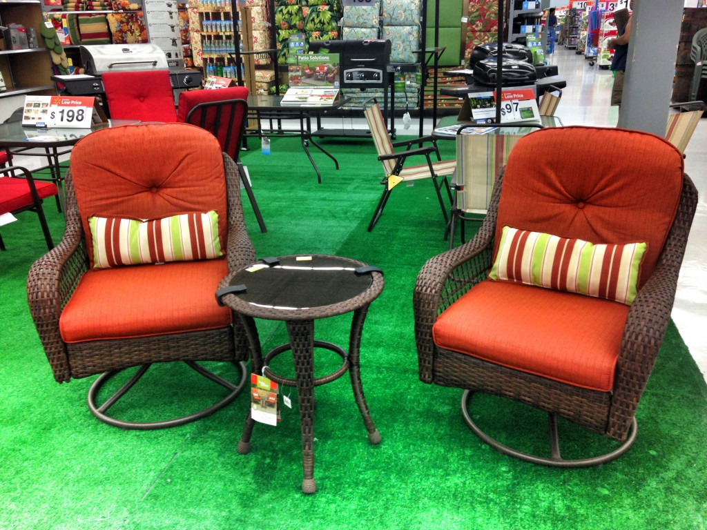 My dream spring outdoor makeover for Small patio furniture sets
