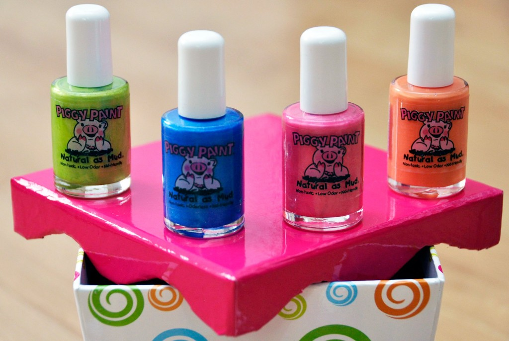 Piggy Paint: Non-Toxic Nail Polish For Girls *Giveaway*