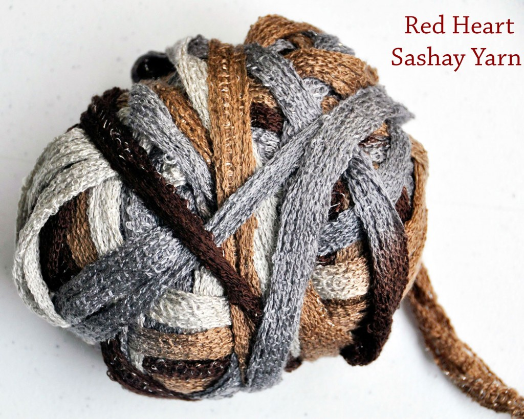 Crochet Scarf Pattern With Sashay Yarn : How to Crochet a Ruffle Scarf With Red Heart Sashay Yarn ...