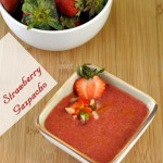 Strawberry Gazpacho Soup