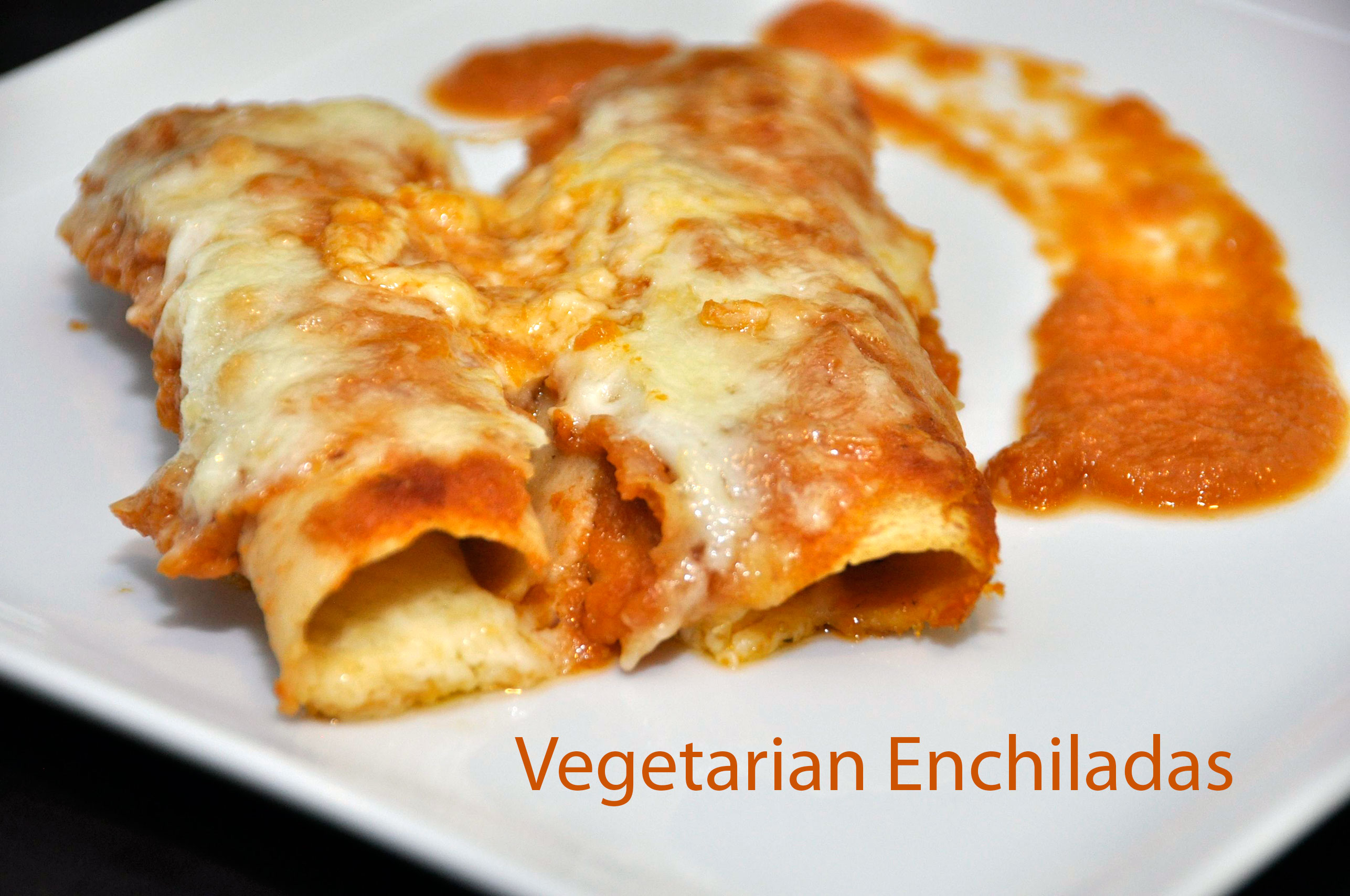 Cinco de Mayo Recipe:  Homemade Vegetarian Enchiladas