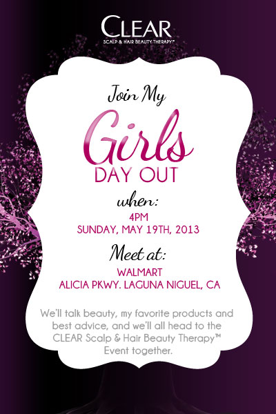 Join Me For A Girl S Day Out With Clear Scalp Amp Hair