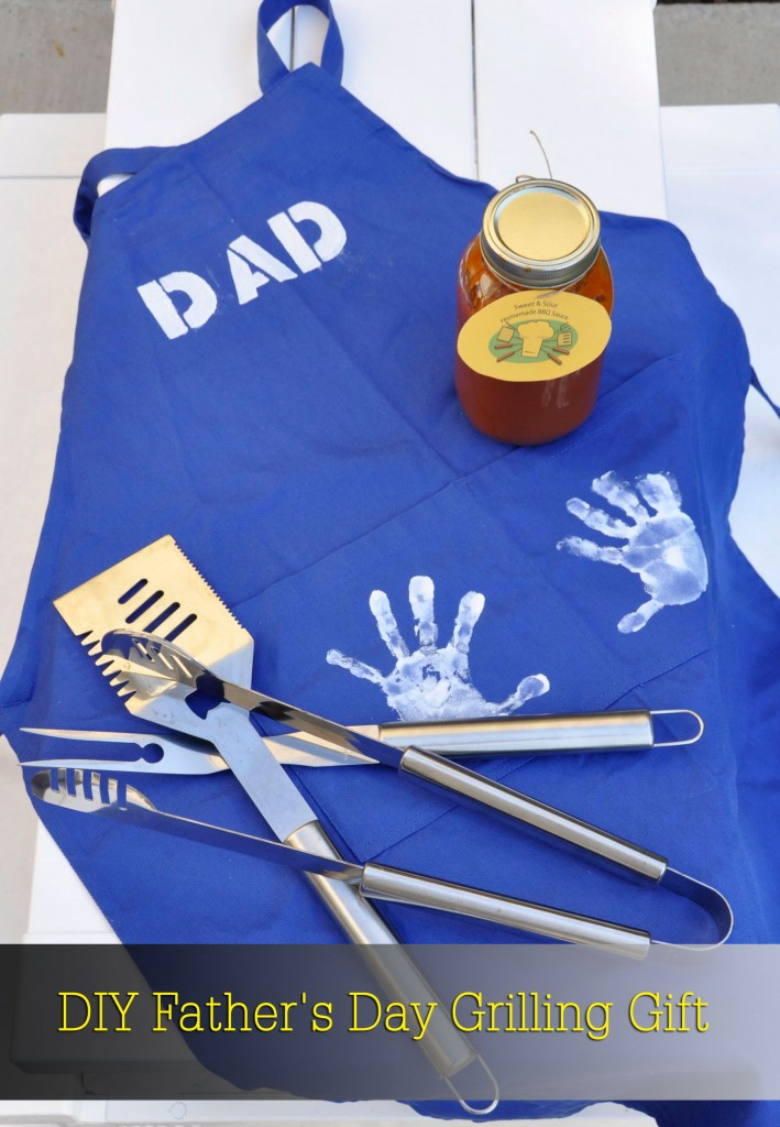 DIY Father's Day Grilling Gift