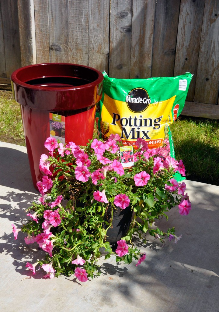 DIY Outdoor Planter Supplies