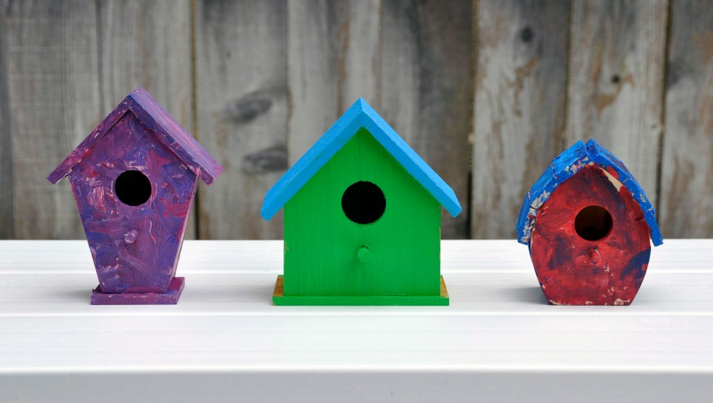 Mini Birdhouses