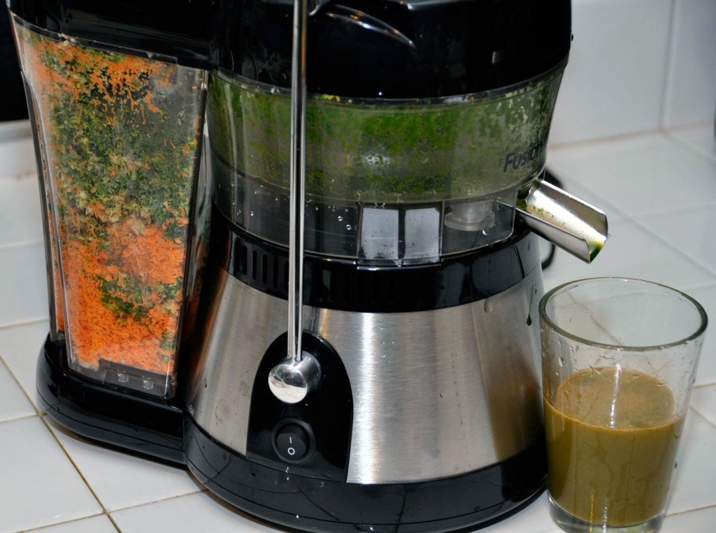 Pulp in Fusion Juicer