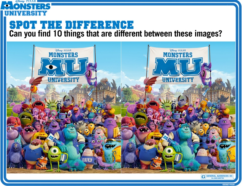 Pics Photos - Spot The Difference Printable Http Www Docrafts Com ...