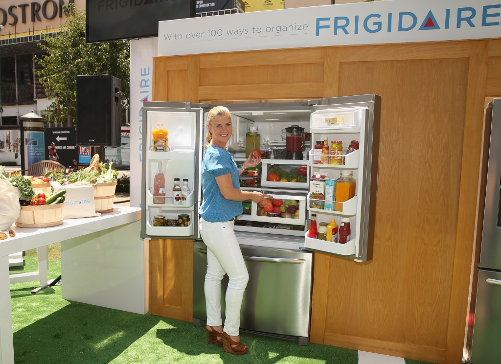 Alison Sweeney Gets The New Frigidaire Gallery French Door Refrigerator In Order