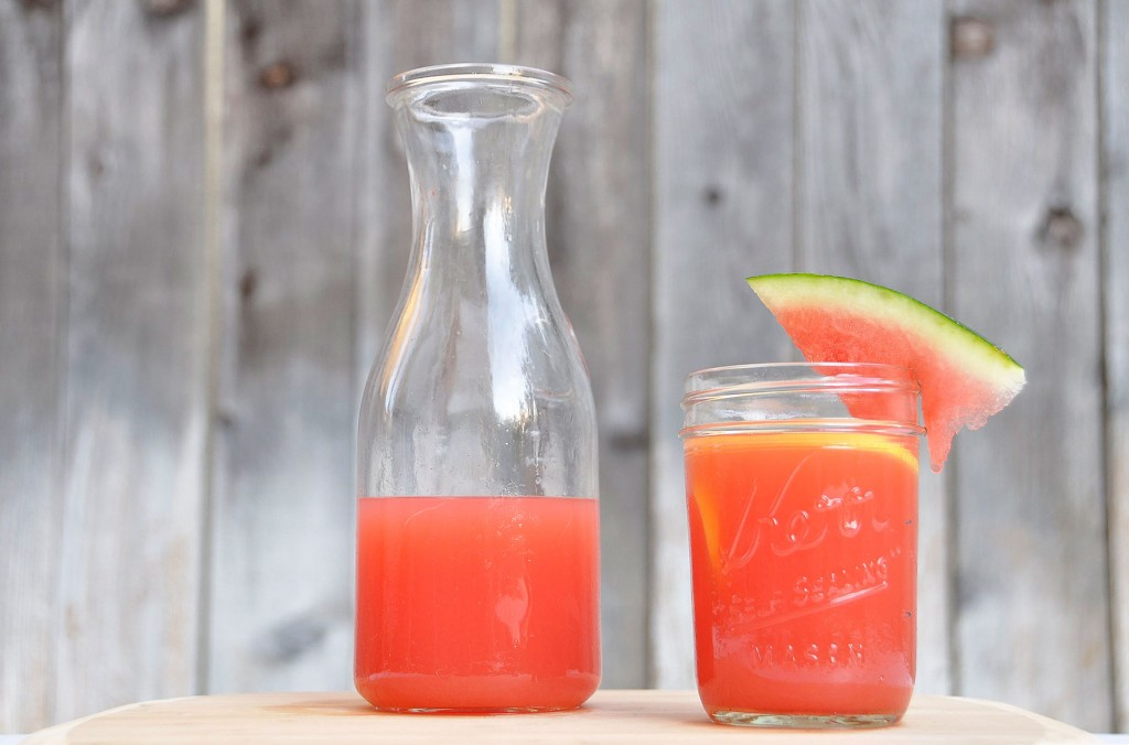 Agave Sweetened Watermelon Lemonade