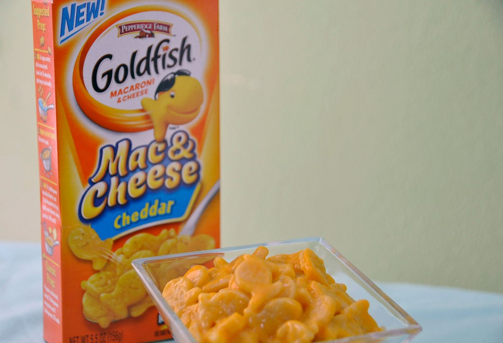 Macaroni And Cheese >> How Did It Taste? Pepperidge Farm Introduces Goldfish Mac & Cheese