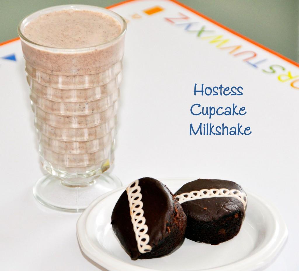 Hostess Cupcake Milkshake