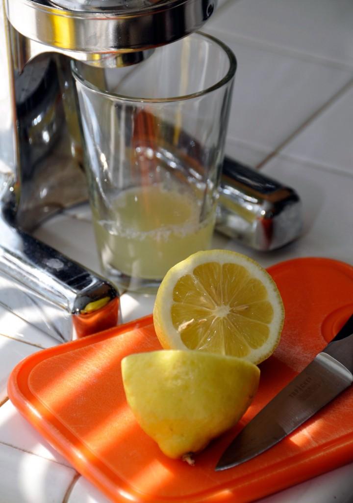 Basil Ginger Frozen Lemonade Cocktail