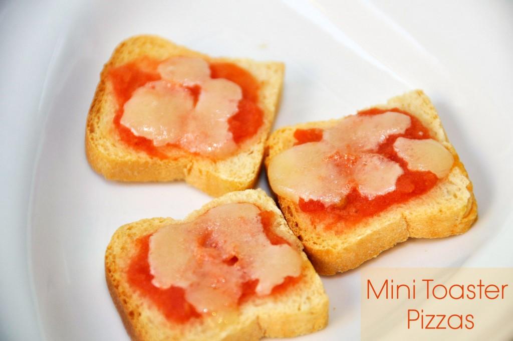 Mini Toaster Pizzas