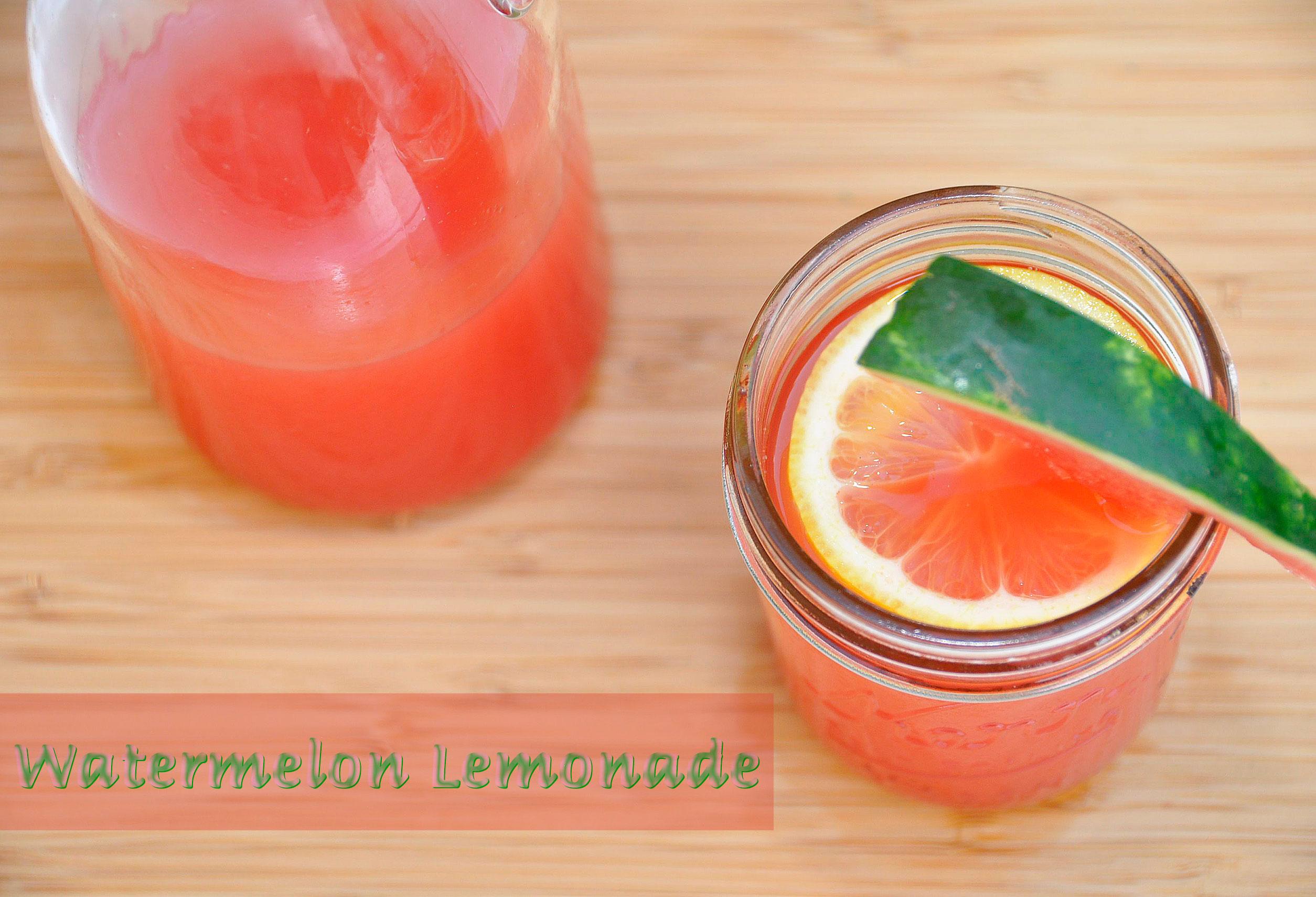 Recipe: Agave-Sweetened Watermelon Lemonade - Rockin Mama™