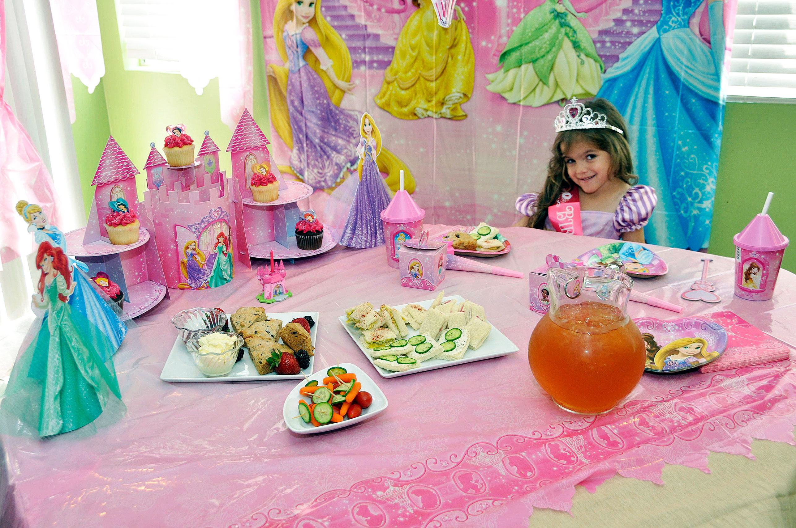 How To Plan A Disney Princess Royal Tea Party
