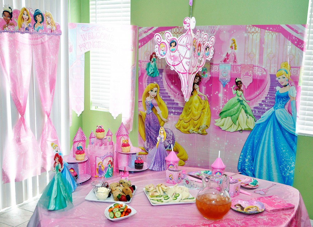How To Plan A Disney Princess Royal Tea Party Rockin Mama