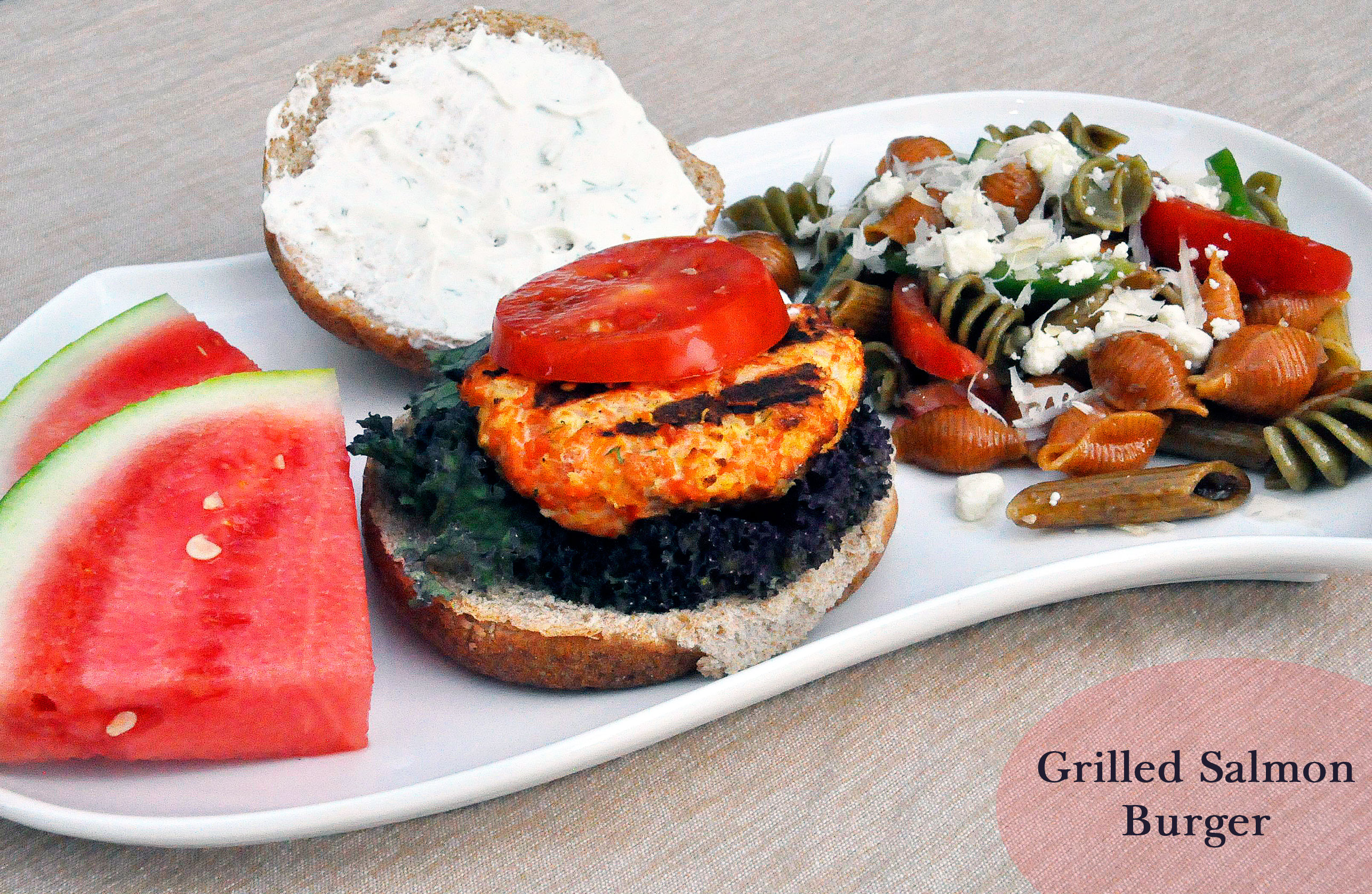 Recipe: Grilled Salmon Burgers With Green Goddess Sauce » Rockin Mama ...