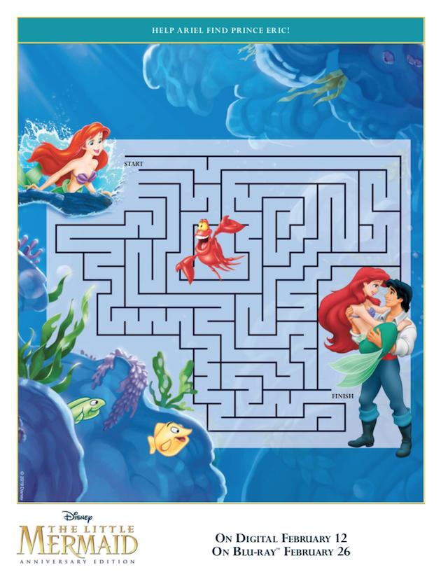 The Little Mermaid Maze
