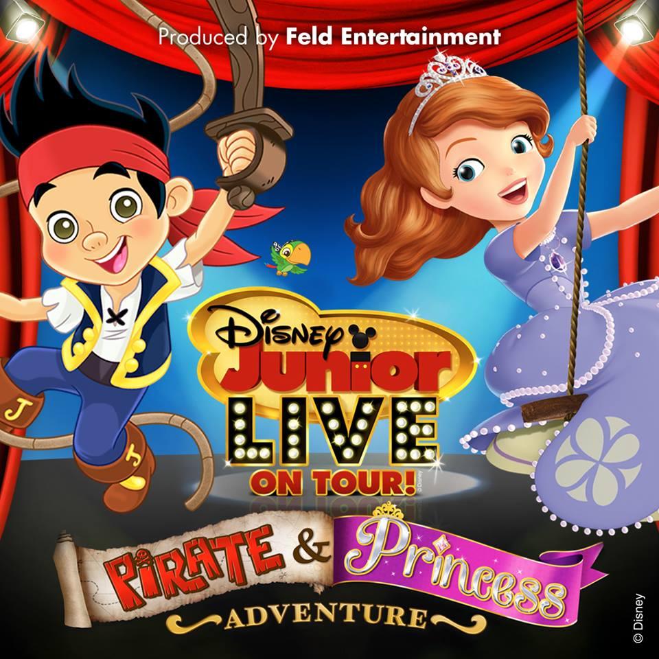 Disney Junior Live On Tour! Pirate & Princess Adventure ...