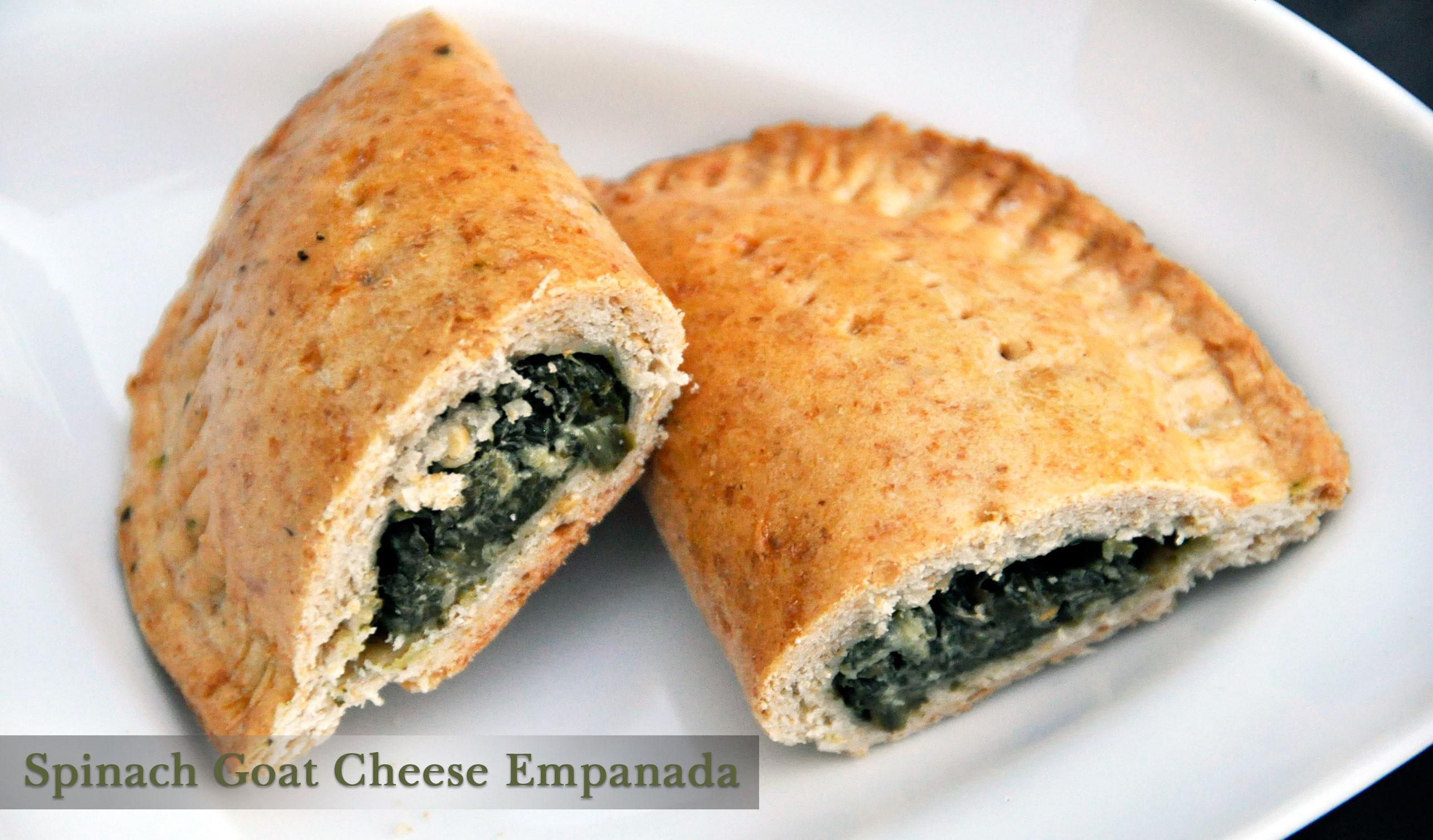 Recipe: Baked Spinach, Leek & Goat Cheese Empanadas - Rockin Mama™