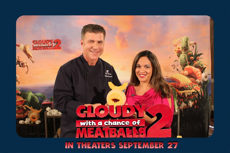 Stand Up With Chef Michael Chiarello - Cloudy With a Chance of Meatballs