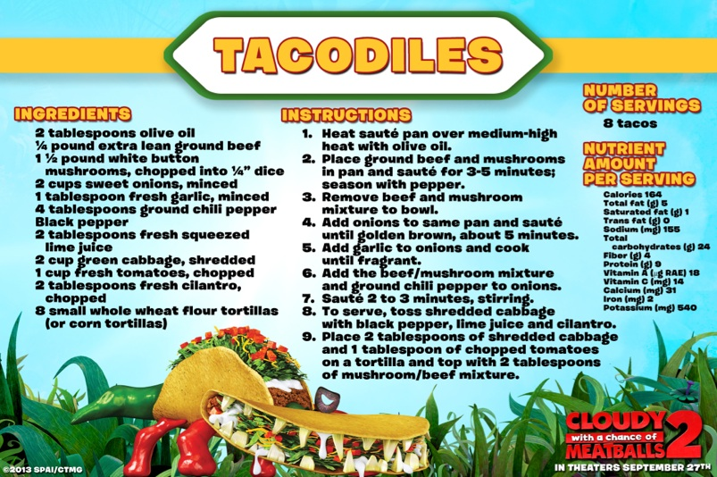 Tacodiles - Cloudy With a Chance of Meatballs