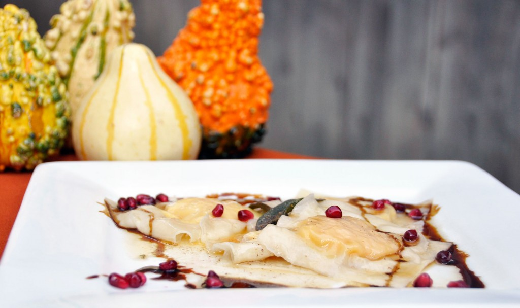 Pumpkin Butternut Squash Ravioli