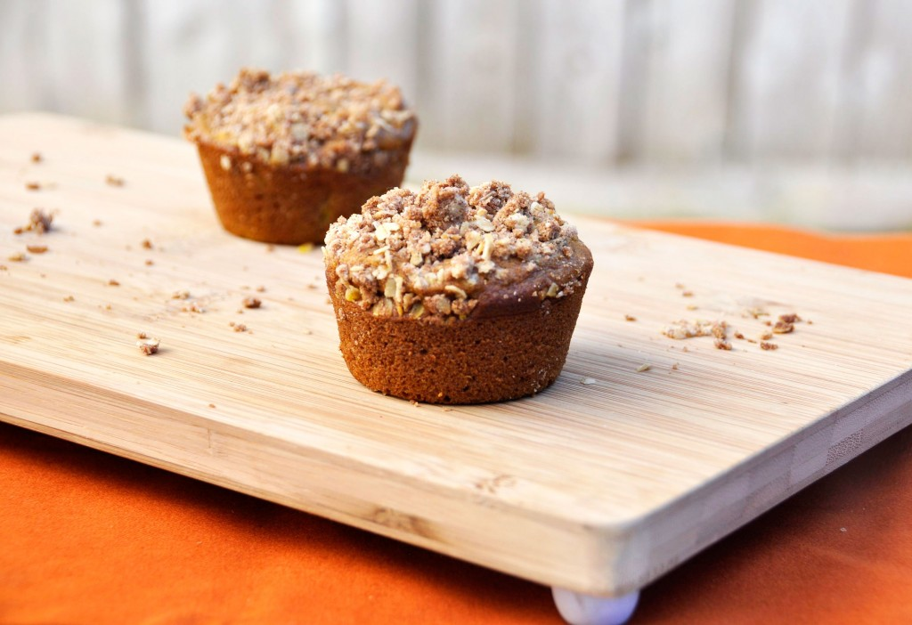 Pumpkin Apple Spice Muffins