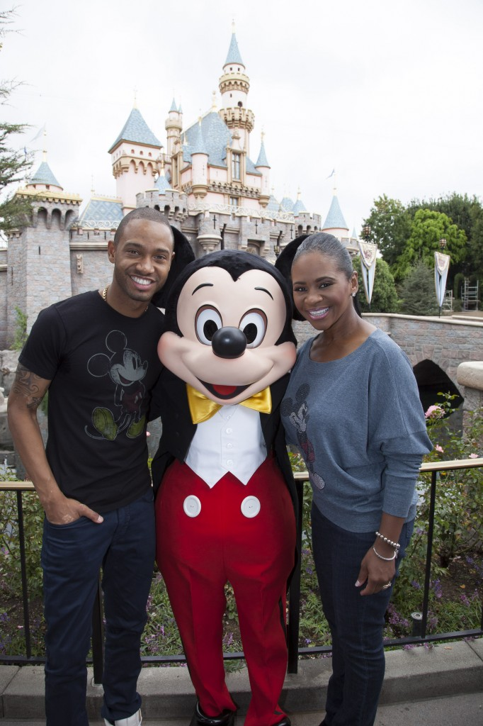 E! News Host Terrence Jenkins Visits Disneyland Resort for a Disney Dreamers Academy Empowerment Session