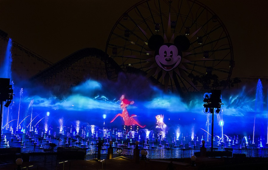 BAMBI THUMPER in WORLD OF COLOR WINTER DREAMS