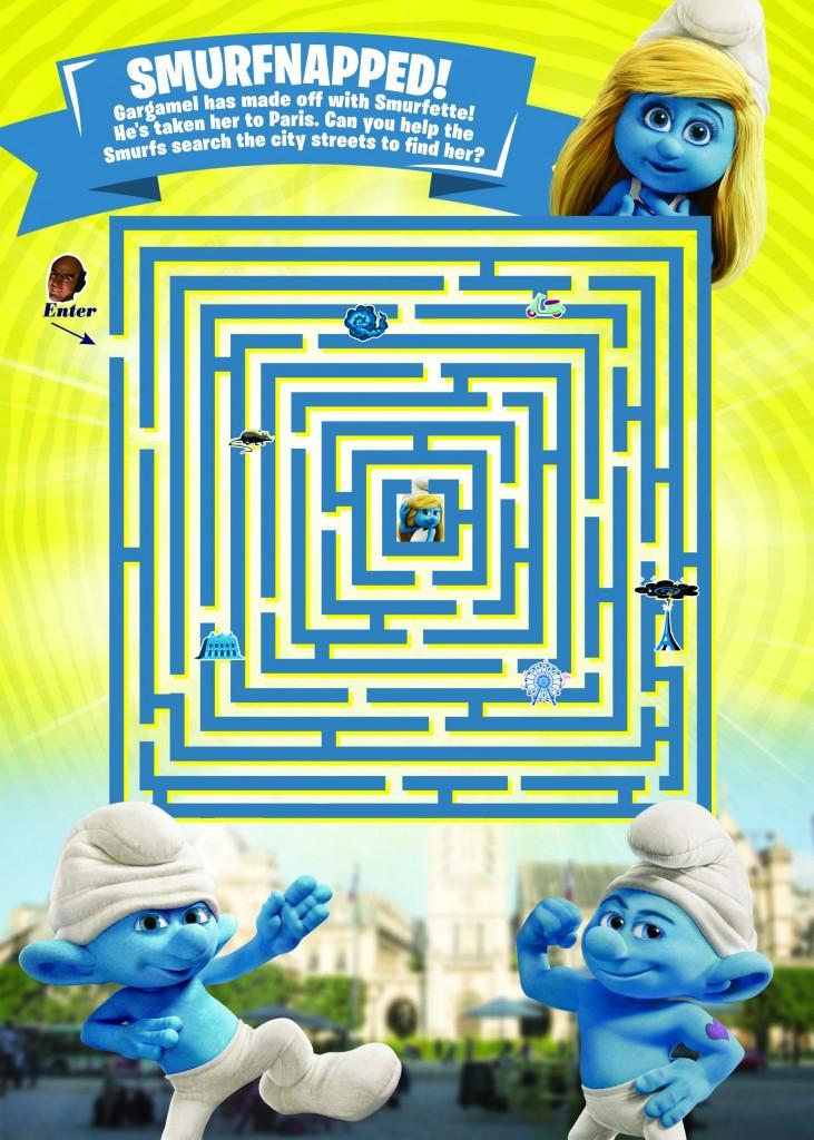 Smurfs 2 Maze