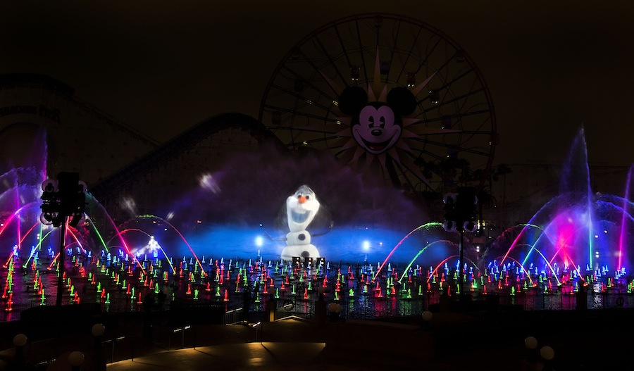 OLAF WORLD OF COLOR WINTER DREAMS