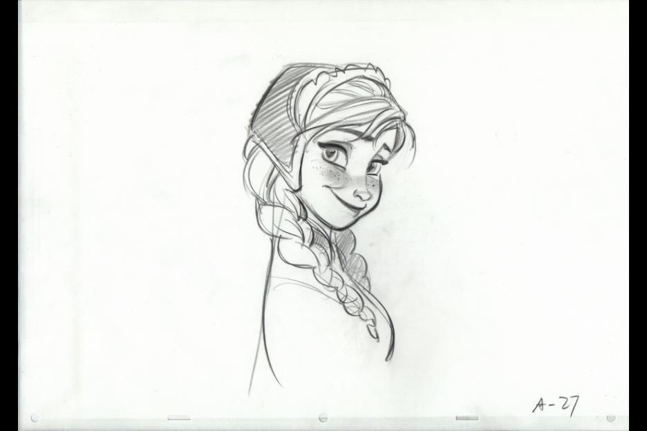 Princess Anna in Disney's Frozen