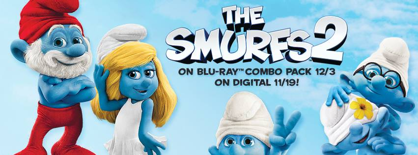 The Smurfs 2 on DVD and Blu-ray