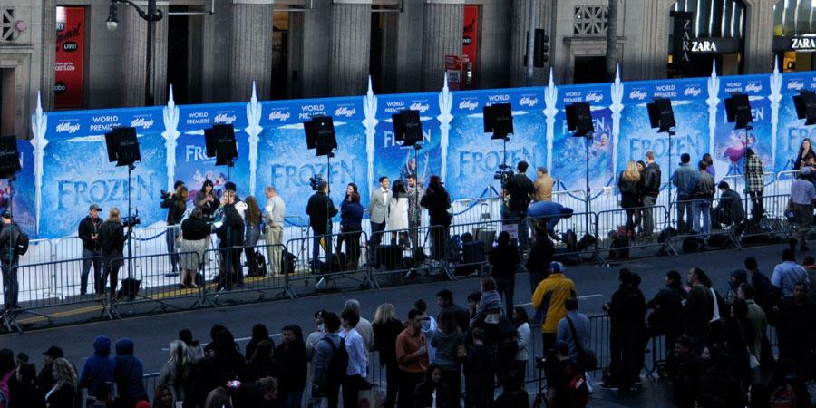 Frozen World Premiere