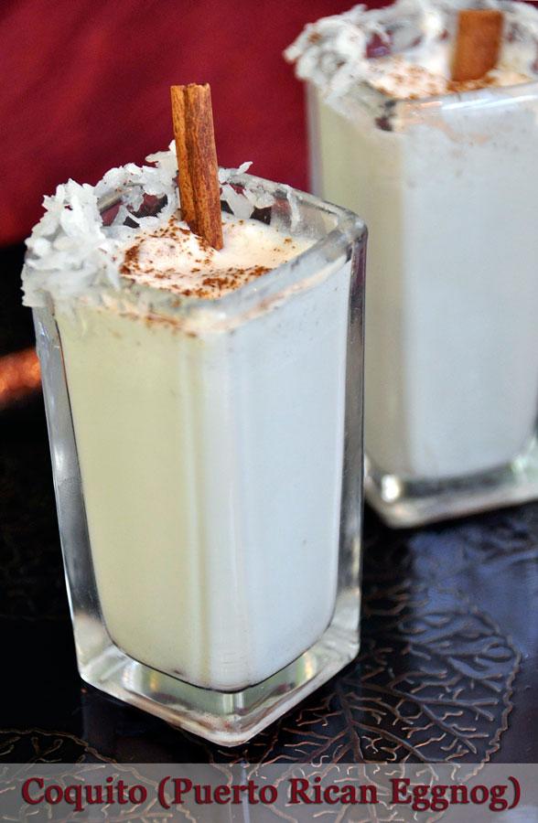 Non-Alcoholic Coquito Recipe (Puerto Rican Eggnog) - Rockin Mama™