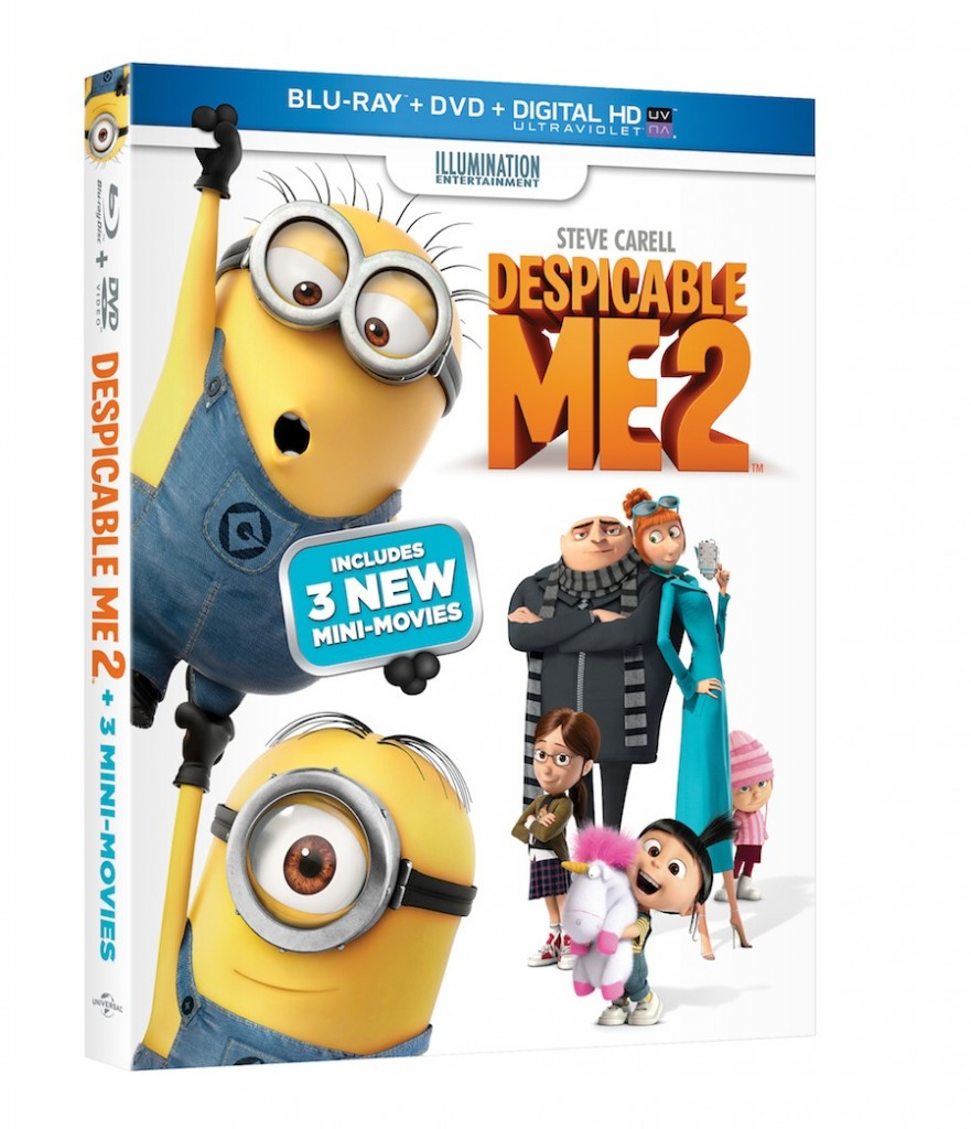 Celebrate The Blu-ray/DVD Release Of Despicable Me 2