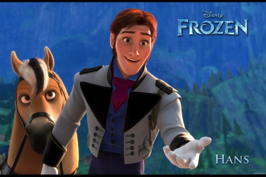 from broadway to fairy tale: santino fontana talks about his role as hans in disney's frozen