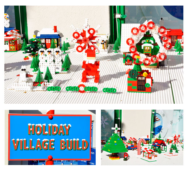 Holiday Village Build