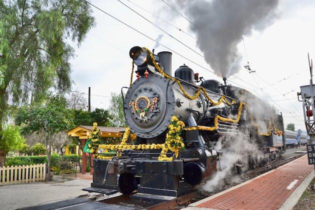Orange Empire Railway Train to Santas Workshop