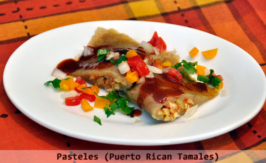 Pasteles Recipe Puerto Rican Tamales