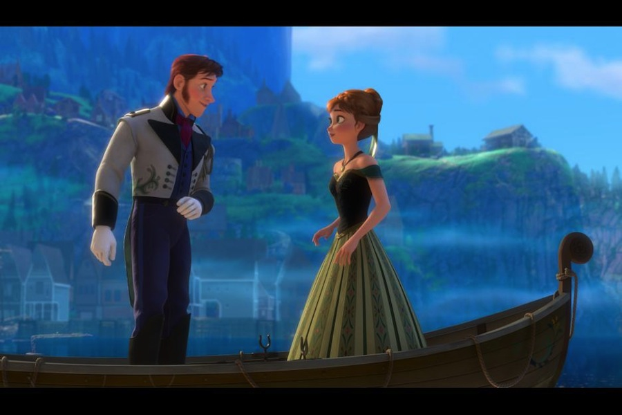 Prince Hans and Princess Anna