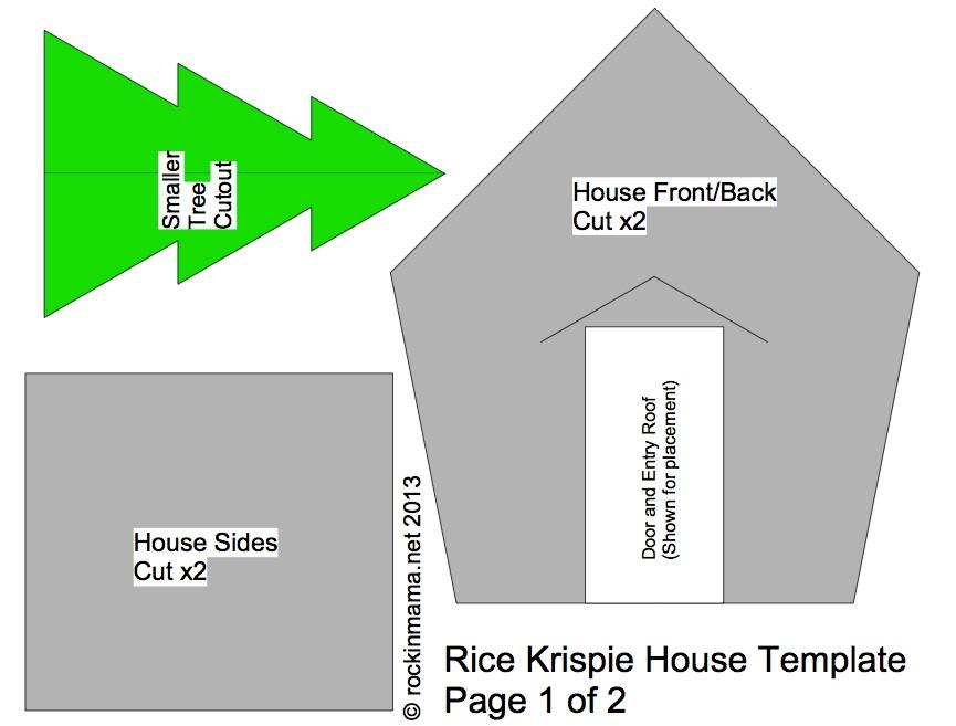 How To Make A Rice Krispie Holiday House Rockin Mama
