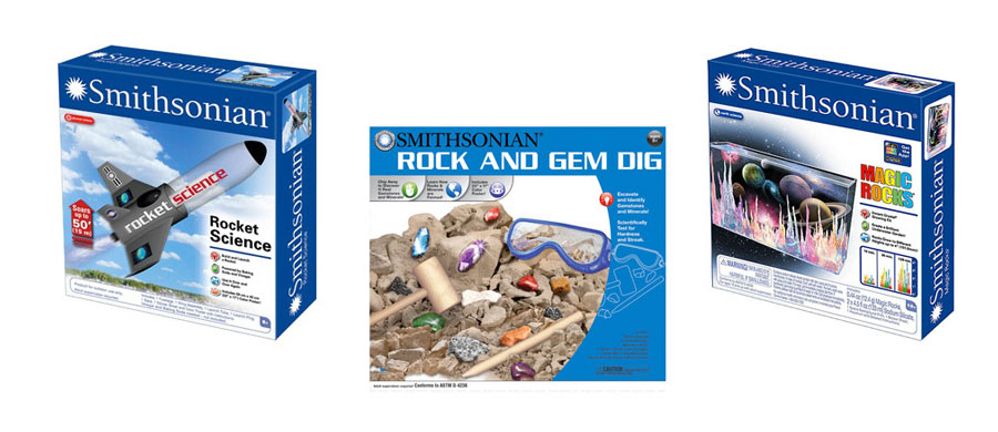smithsonian rock and gem dig instructions