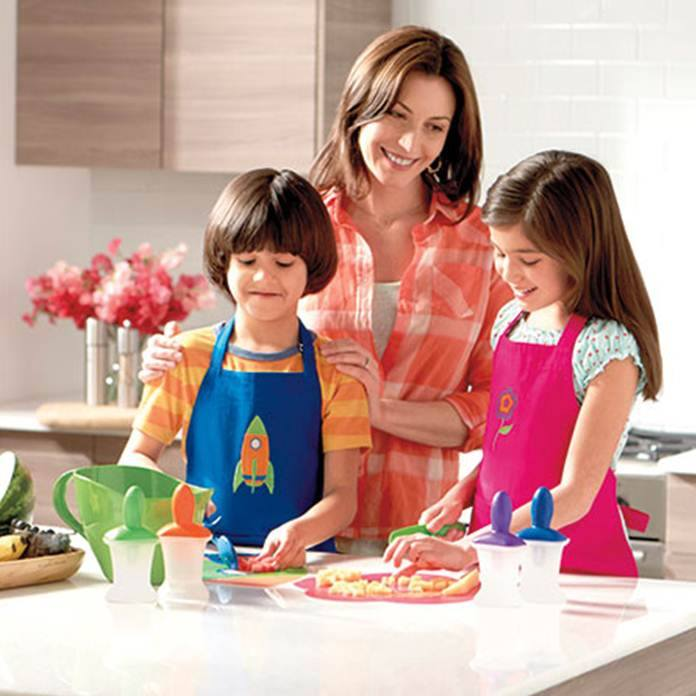 princess house brings kids into the kitchen with cookin' kids collection