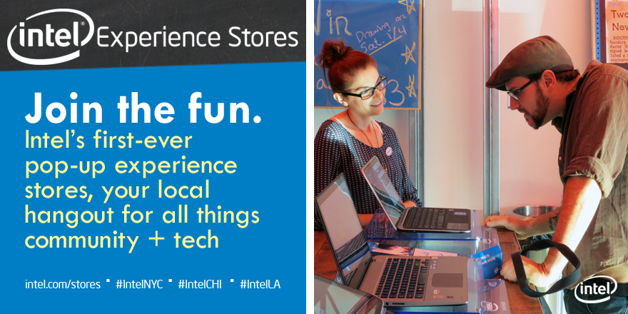 Intel Experience Stores