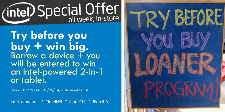 Intel Loaner Program
