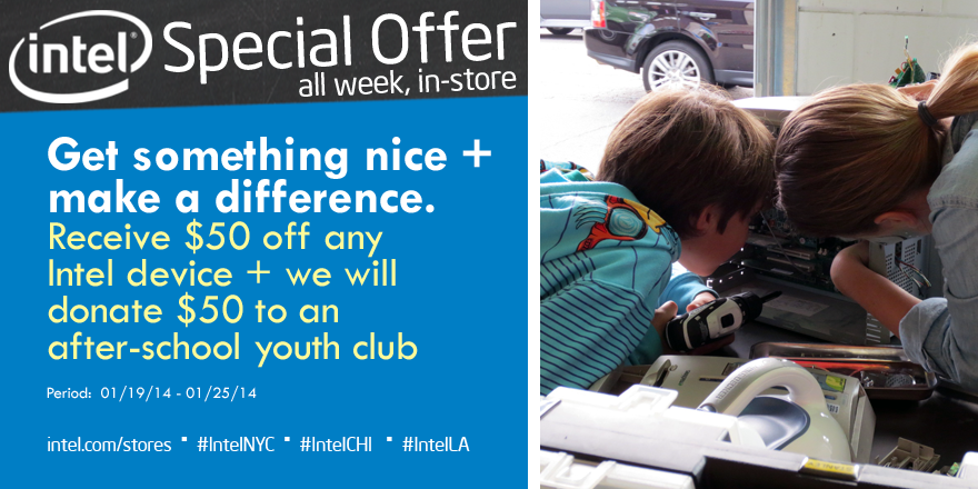Intel Youth Club Offer