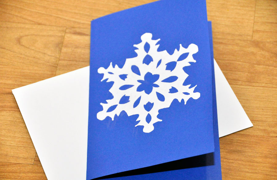 Easy DIY Snowflake Invitations + Free Printable